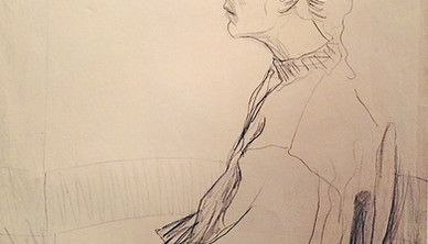 Shahla Hosseini Barzi Graphite on paper 70 x 100 cm