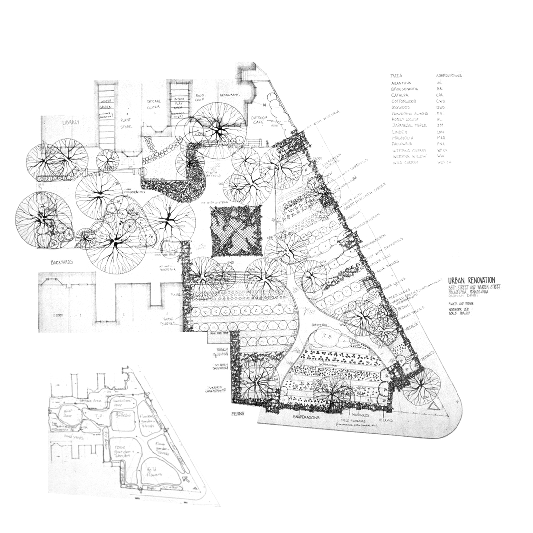 Pocket Park site plan