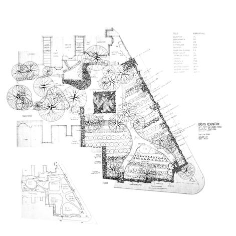 Pocket Park site plan