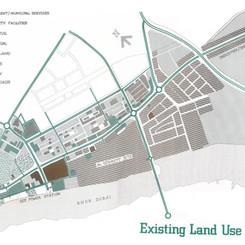 Plan of the Al Maktoum Road Development Scheme