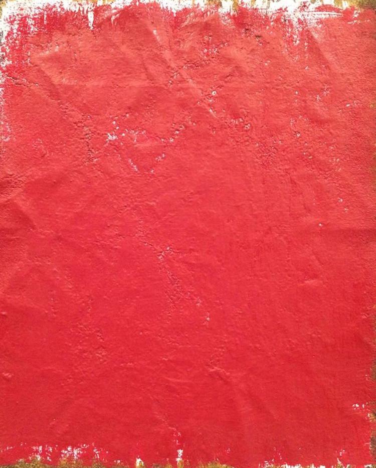 Nelda Gilliam Acrylic on paper 15 x 25 cm