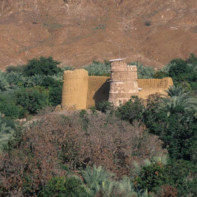 Al Hayl forts in Fujairah