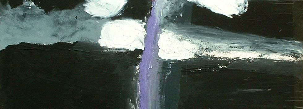 Mostafa Dashti Acrylic on canvas 150 x 150 cm 2004