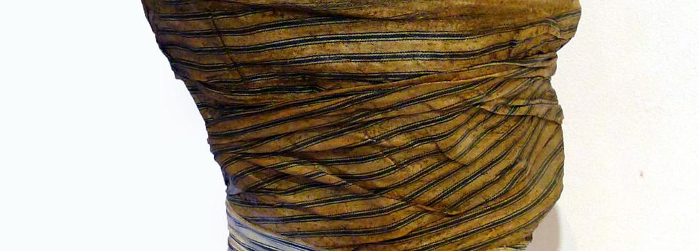 Faisal Samra Fabric and wire mesh 70 x 30 x 22 cm 2007