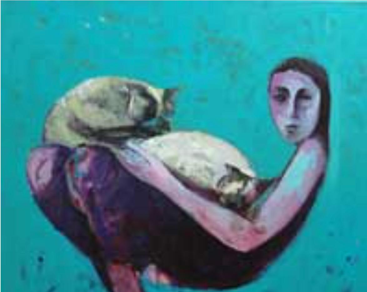 Ismail Al Rifai Acrylic on canvas 100 x 100 cm