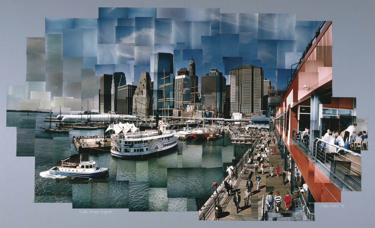 Pier 17 photomosaic Claude Samton