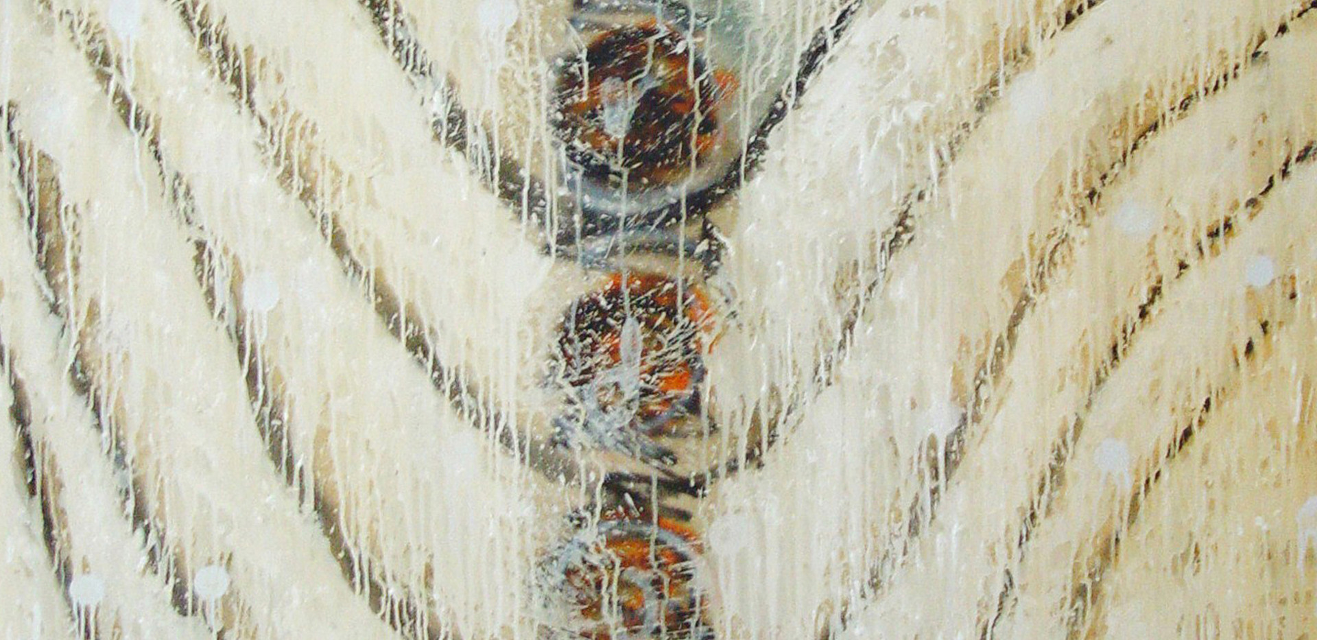 Mohsen Jamali Neek Hadron 2 140 x 170 cm 2008