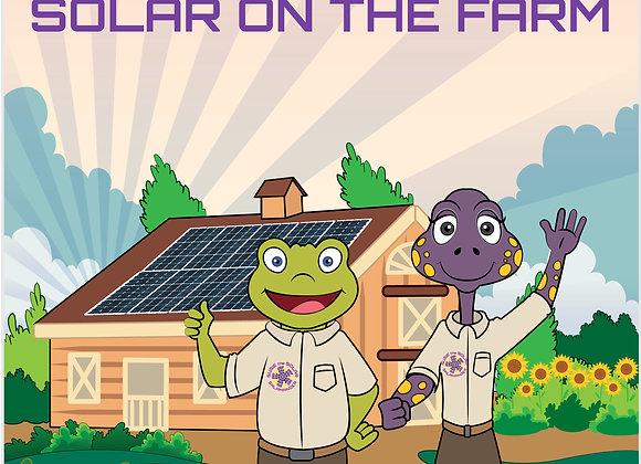 "Susie the Solar Salamander - Paperback 8.5""X11"""