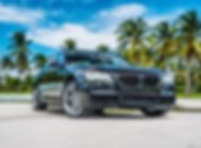 VIP Miami Auto BMW 7 Series Rental