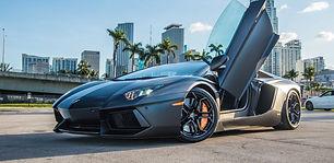 Vip Miami Auto Exotic Car Rental Lamborghini Aventador