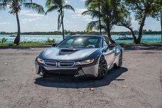 Vip Miami Auto Exotic Car Rental BMW I8 Limited