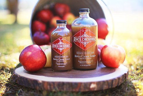 Athol Orchards Original Apple Cider Syrup 8oz. Bottle