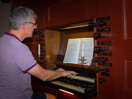 Concert 1 augustus 2020 in de Doopsgezinden Kerk in Drachten.