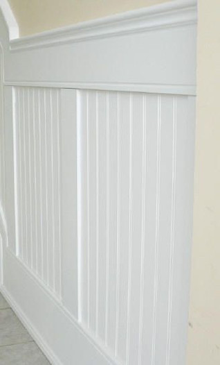 wainscoting wood trim crown molding inst