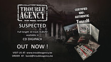 "NEW ALBUM: ""Suspected"" pressed in 500 copies - OFFICIALLY AVAILABLE NOW"