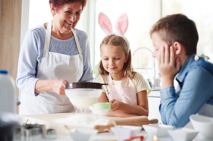 Ostern Vorbereitungen