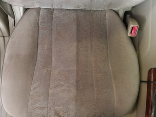 車内の汚れ、シミ、匂いあきらめないで!