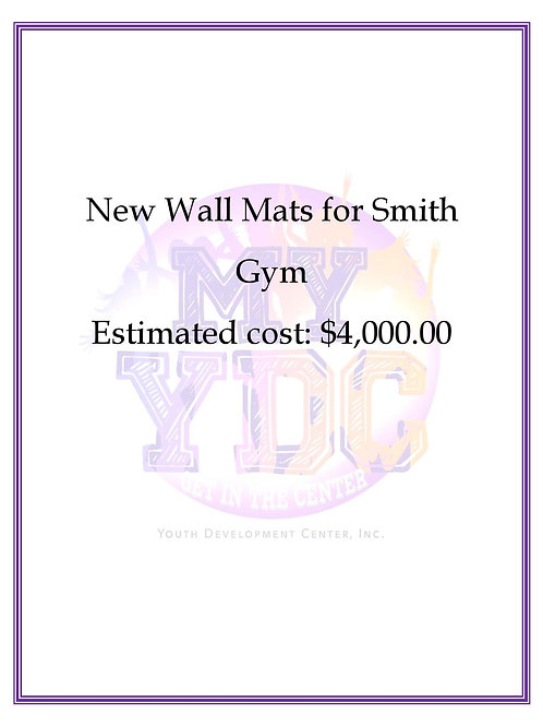 New Wall Mats for Smith Gym