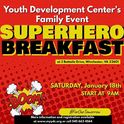 SuperHero Breakfast