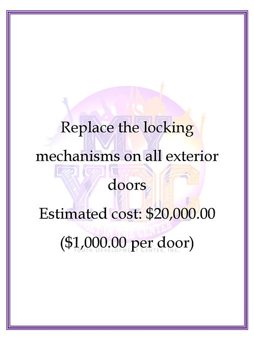 Replace Locking Mechanism on Exterior Doors