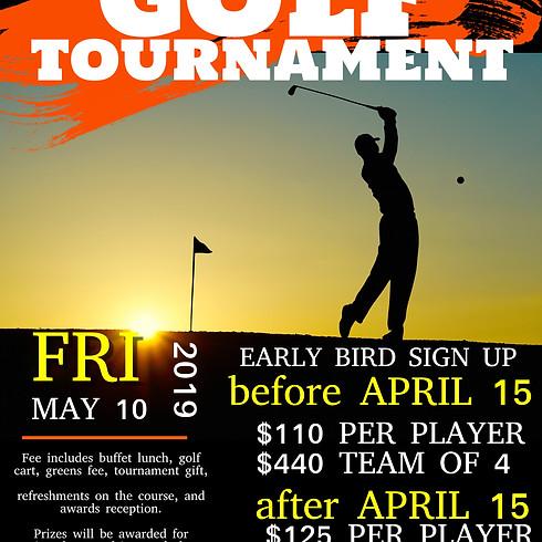 2019 Golf Tournament Sponsorship