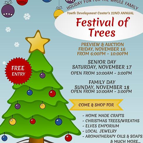 FESTIVAL OF TREES