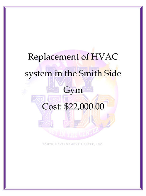 New HVAC System in Smith Gym
