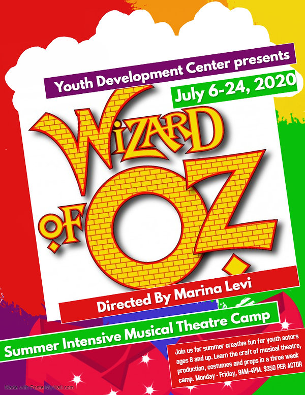 Wizard of Oz CAMP FLYER - Made with Post