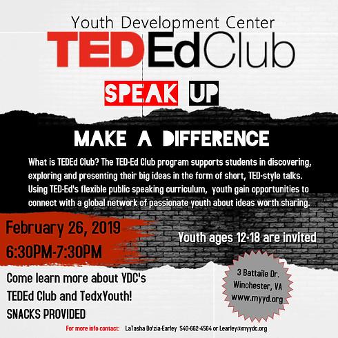 TEDEd Club Informational Meeting