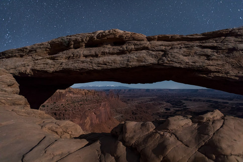 Midnight in Canyonlands