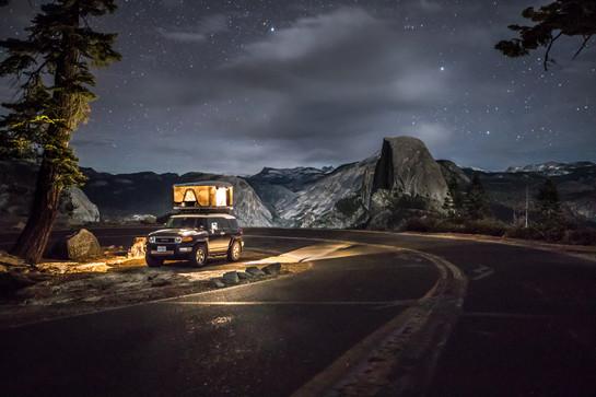 Glacier Point, California