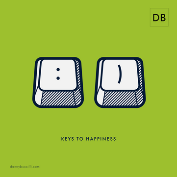 What is the key to a happy life?