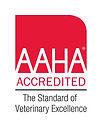 We are AAHA Accredited. The standard of Veterinary Excellence
