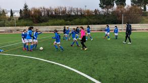 Infantil Femenino 1 - 4 Olímpico de Madrid A