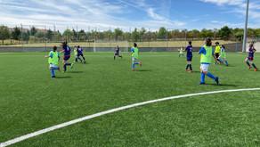 CD San Pascual Montpellier 0 - 4 Alevín Femenino