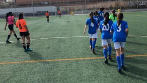 Madrid Sur Latina 2 - 0 Infantil Femenino