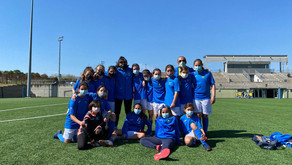 Olímpico Las Rosas 3 - 4 Alevín Femenino