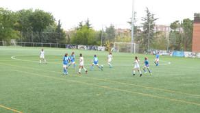 Madrid CFF 9 – 1 Alevín Femenino