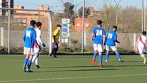 SAD Fundación Rayo Vallecano C 1 - 3 Juvenil Masculino