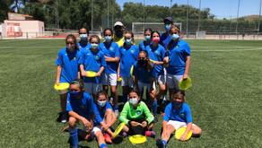 El Alevín Femenino queda tercero en el torneo Yellow Soccer Heels