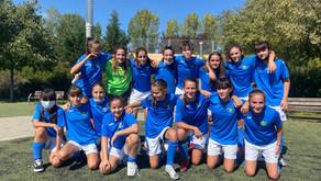 Cadete Femenino 1 - 5 AD Sporting de Hortaleza