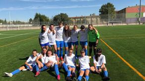Futbolellas CF 3 - 1 Cadete Femenino