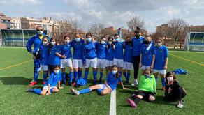 Alevín Femenino 9 - 0 Olímpico de Madrid B