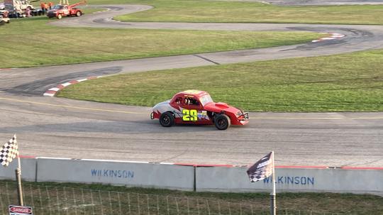Daryl Henwood Takes Race #2