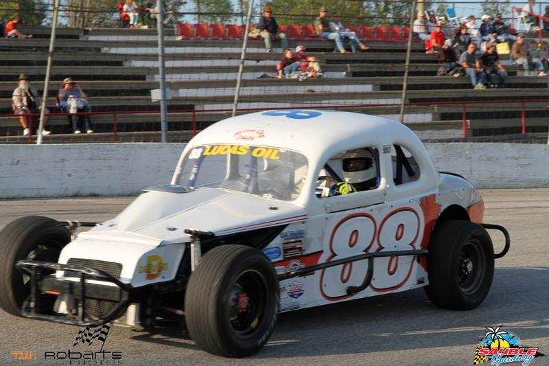 2017 Lucas Oil Canadian Vintage Modifieds 5th place overall #88 Bill Stoner  Sr.
