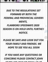 Delay Start for 2020 Season