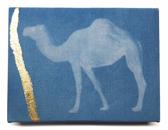 Gold Arabian Camel