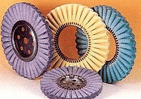 dischi ondulati 45 pieghe impregnati per pulitura mtali