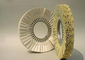 dischi plissettati perlucidtura metalli
