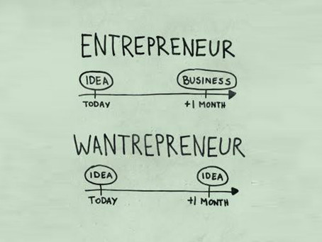 "The wondrous world of the "" Wantrapreneur"""